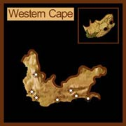 Map of the Western Cape