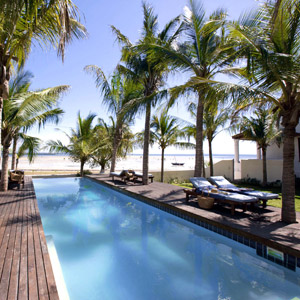 Swimming pool at Ibo Island, Mozambique
